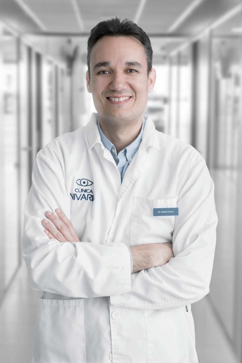 Oftalmólogo Clinica Nivaria Pedro Rocha