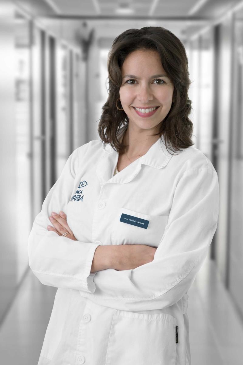 Oftalmóloga Clinica Nivaria Karintia de Armas