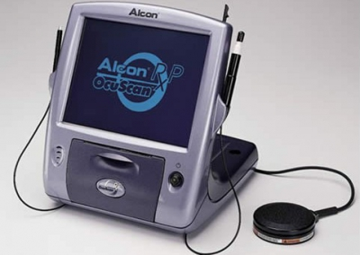 Biometro Ocuscan. Alcon