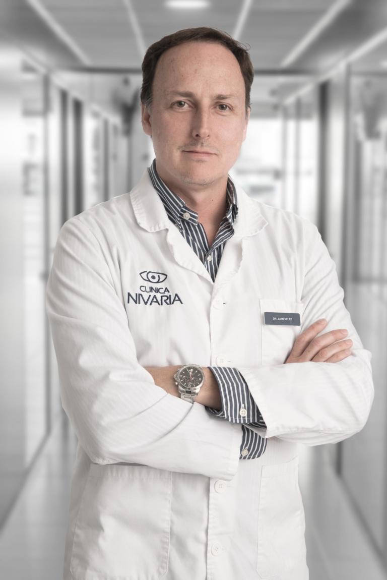 Oftalmólogo Clínica Nivaria Juan Vélez