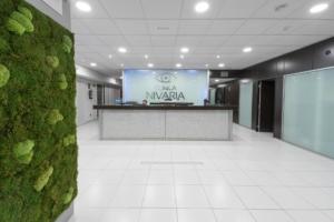 Hall de entrada clinica Nivaria